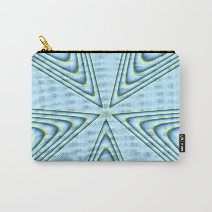 Linear Waves in MWY 01 Carry-All Pouch