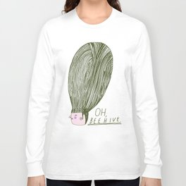 Oh Beehive Long Sleeve T-shirt