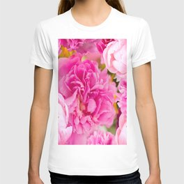 Large Pink Peony Flowers #decor #society6 #buyart T-shirt