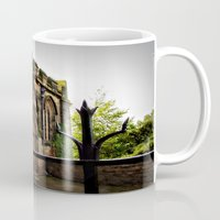 medieval Mugs featuring Medieval by Barbara Gordon Photography