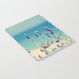 beach - lavender blues Notebook