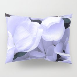 Lightly Lilac Flowers Pillow Sham