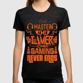 Gaming Master Online Gamer Video Game Fan Gift Idea T-shirt
