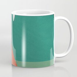 Color and Shape - Colorado Camping Coffee Mug