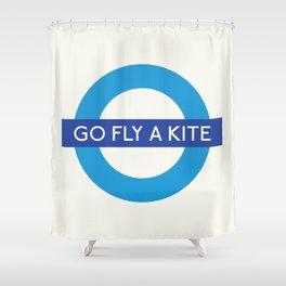 Go Fly A Kite   TFL Shower Curtain