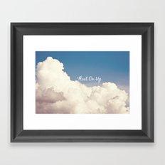 Float On Up  Framed Art Print
