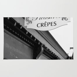 Les Crepes BW Rug