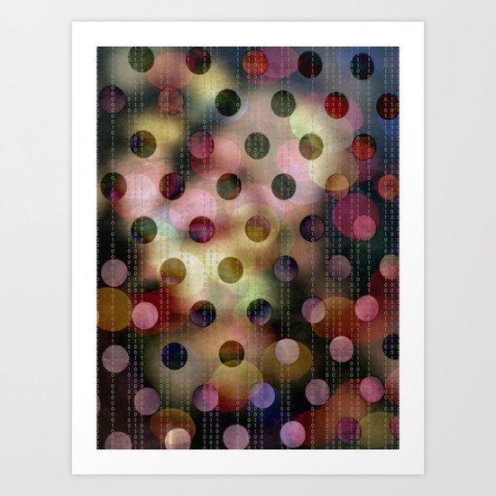 Zeroes and Ones Art Print