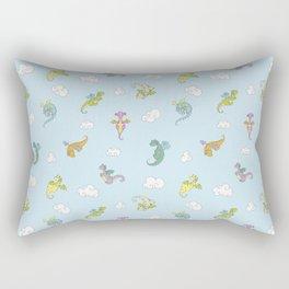 Dragon Babies Rectangular Pillow