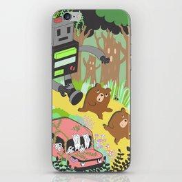 Run Run Run iPhone Skin