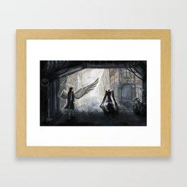 Helpless: We Used to Have Each Other Framed Art Print