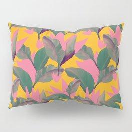Retro Luxe Lilies Pattern Pillow Sham