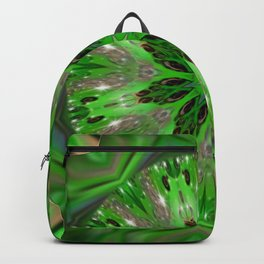 In Passion Toxic Fractal Devil Mandala Backpack