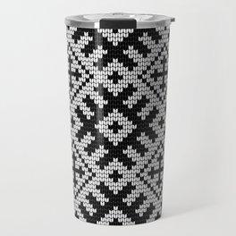 Pattern in Grandma Style #24 Travel Mug