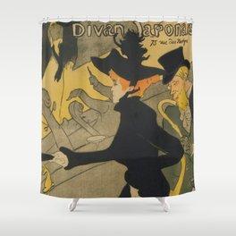 Henri de Toulouse-Lautrec Divan Japonais Shower Curtain