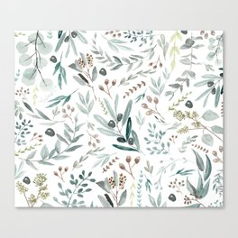 Eucalyptus Leaf Canvas Print