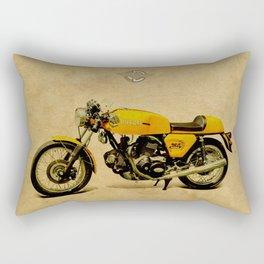 Ducati 750 GT 1973 Rectangular Pillow