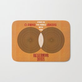 Reservoir Dogs - Venn Diagram : Stuck in the Middle with you Bath Mat