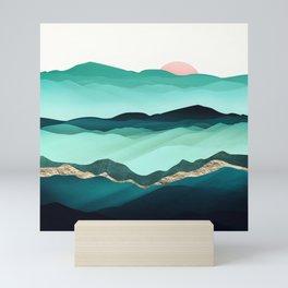 Summer Hills Mini Art Print