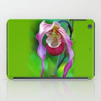 orchid iPad Cases featuring Orchid by Trevor Jolley