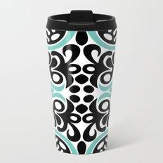 C13D Swirl Pattern Metal Travel Mug