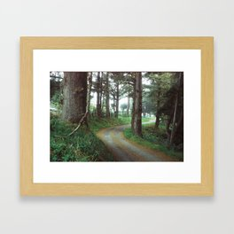 The Road to Petrolia Framed Art Print
