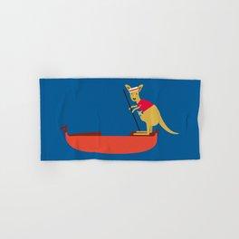 Kangaroo on Gondola Hand & Bath Towel