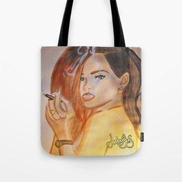 Rihanna - Blunt  Tote Bag