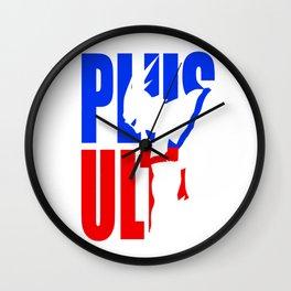 Plus Ultra All Might Hero Academia Wall Clock