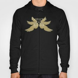 Protected by Lucifer Light Hoody