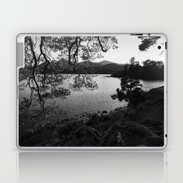 derwentwater through the trees from friars crag Laptop & iPad Skin
