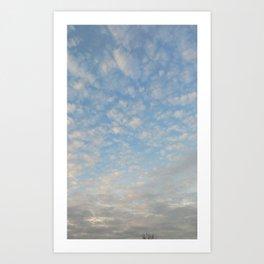 Blue Sky Photograph Art Print