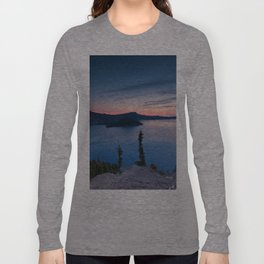 Sunrise At Crater Lake Long Sleeve T-shirt