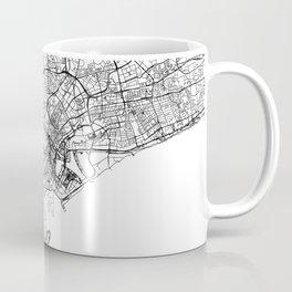 Singapore White Map Coffee Mug