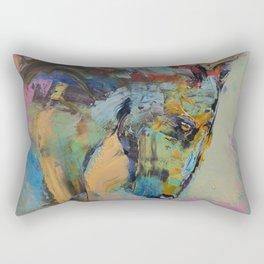Horse Study Rectangular Pillow