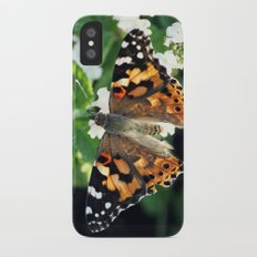 Painted Lady iPhone X Slim Case