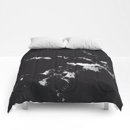 Black Marble #3 #decor #art #society6 Comforters