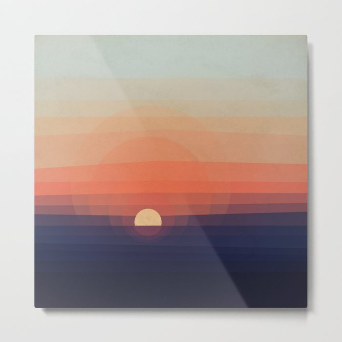 Colors Sunset Metal Print