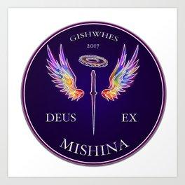 Deus Ex Mishina Art Print