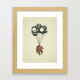 Muerte Desde El Cielo, I (El Oso) Framed Art Print