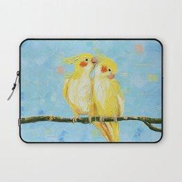 Cockatiels. Birds Laptop Sleeve