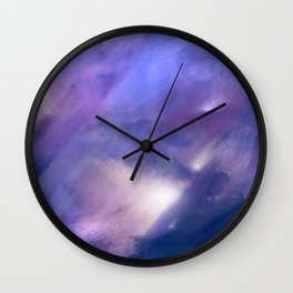 Innocence (Remembering life before the hurt) | Abstract Painting Wall Clock