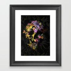 Spring Skull Framed Art Print