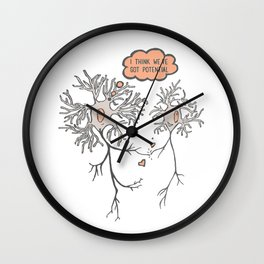 I Think We've Got Potential Wall Clock