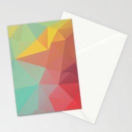 Geometric X Stationery Cards