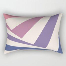 Spinning Squares Palette IIII Rectangular Pillow