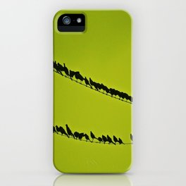 shoulder to shoulder iPhone Case