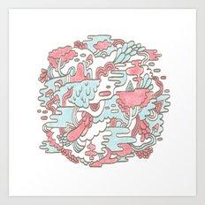 Swamp Jam Art Print