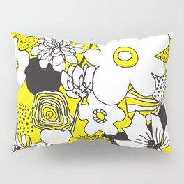 Floral Medley - Yellow Pillow Sham