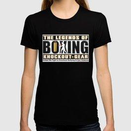 Legends of Boxing Knockout Tour T-shirt